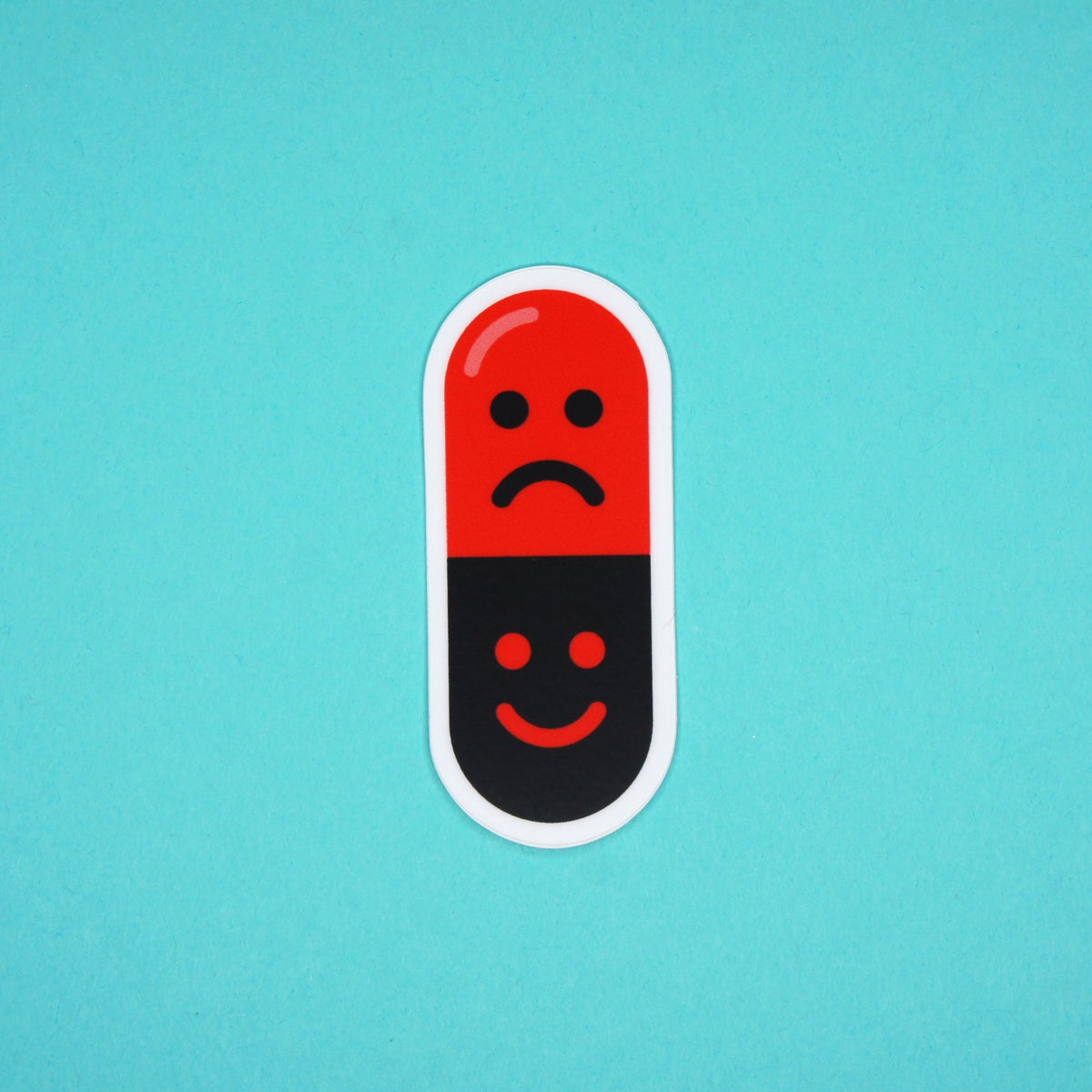 Mood Swing Pill Sticker