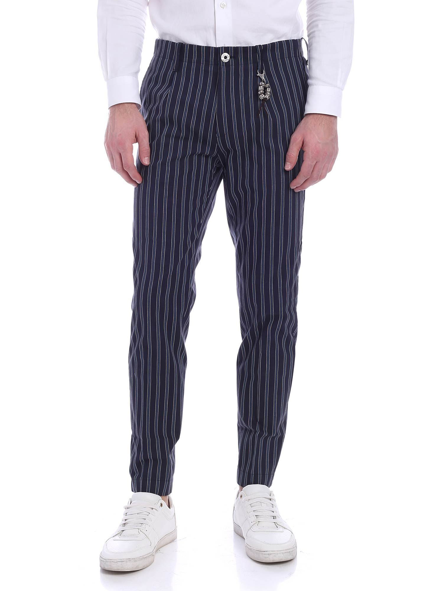 Image of Pantalone una pence righe R92 L-RB