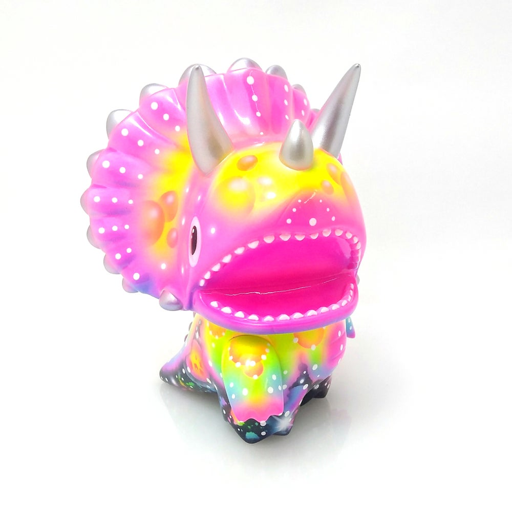 Image of Neon Bubble Galaxy Tridino One Off Custom