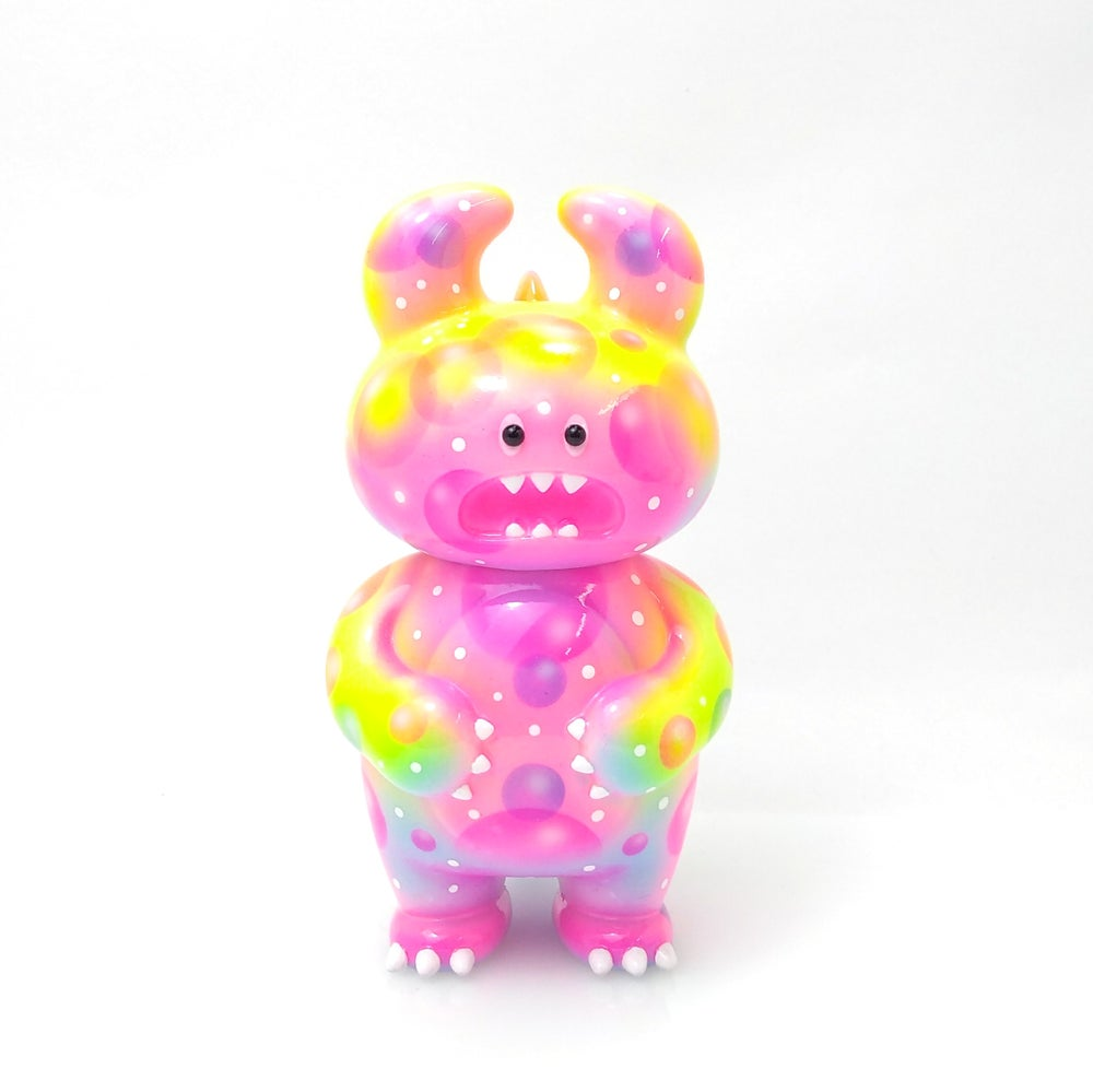 Image of Neon Bubbles Dino Uamou  One Off Custom