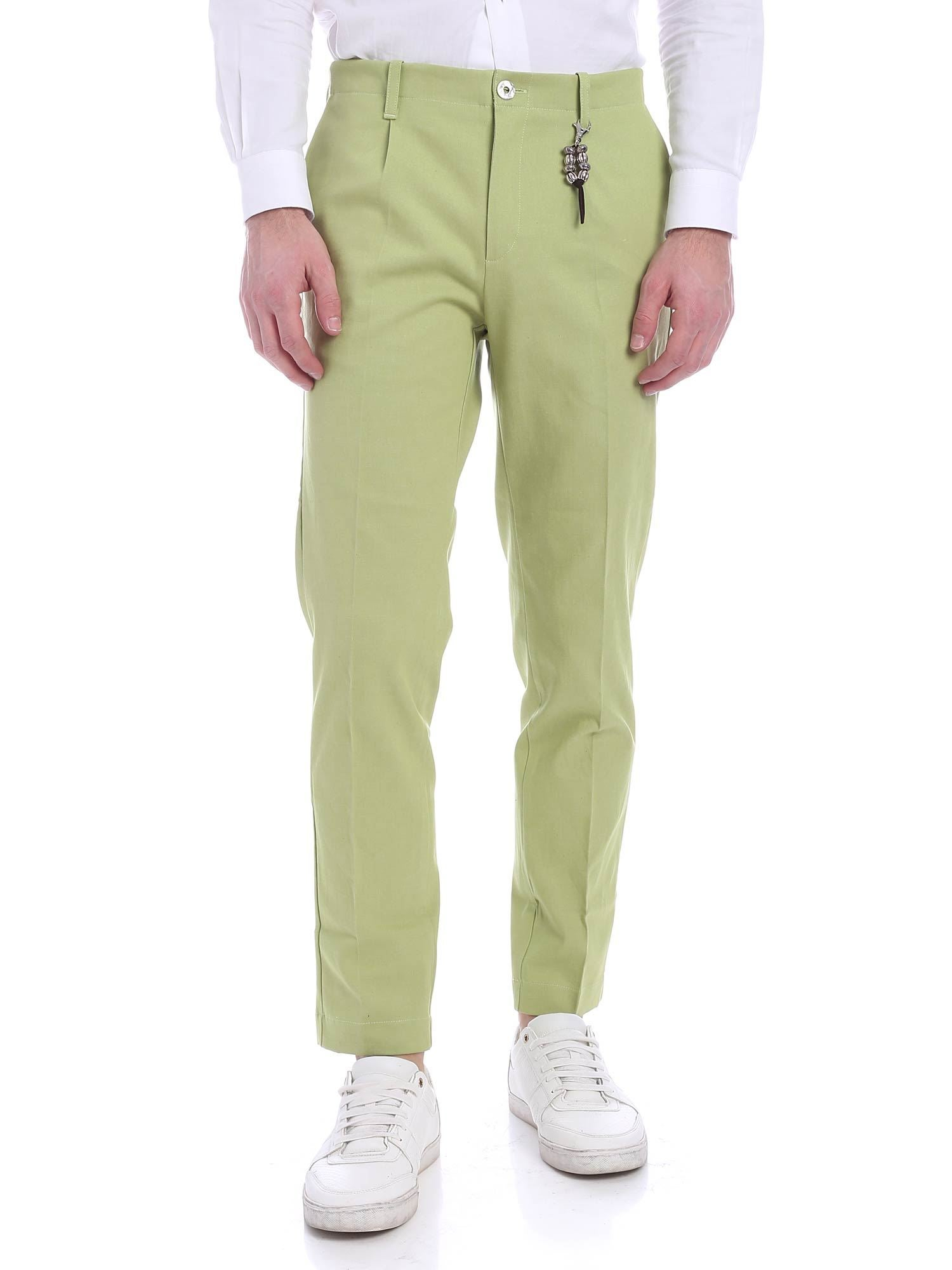 Image of Pantalone una pence verde lime R92 D-LI