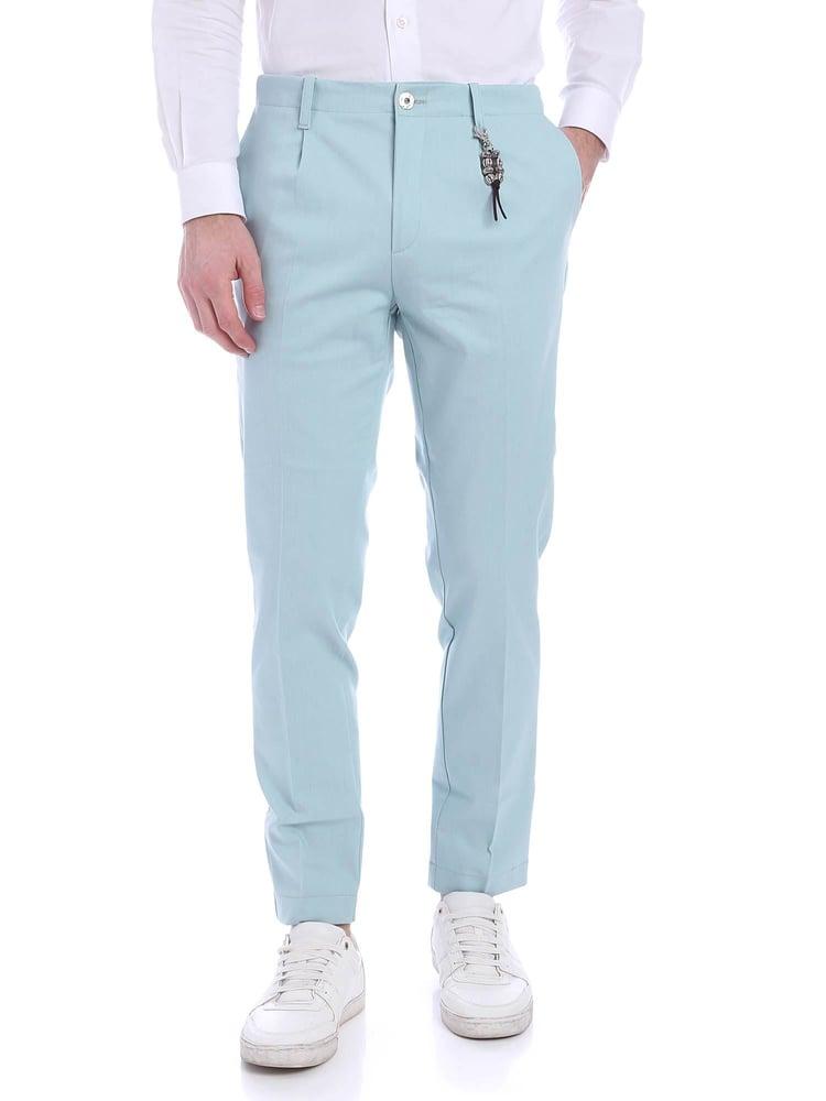 Image of Pantalone una pence denim celeste R92 D-CE