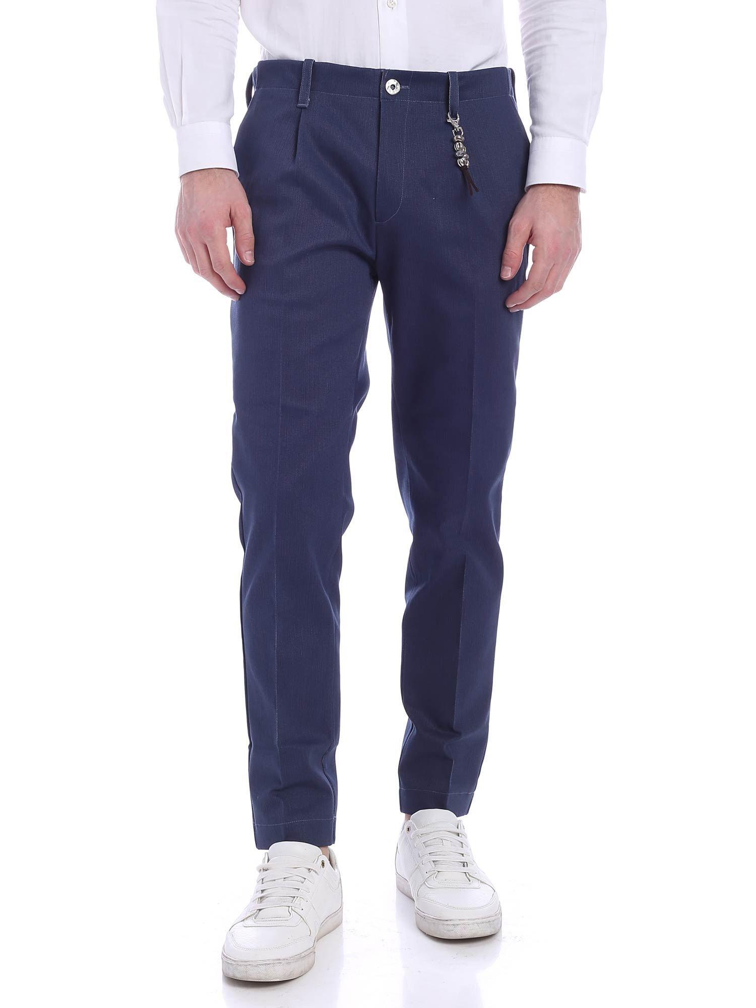 Image of Pantalone una pence denim blu R92 D-BL