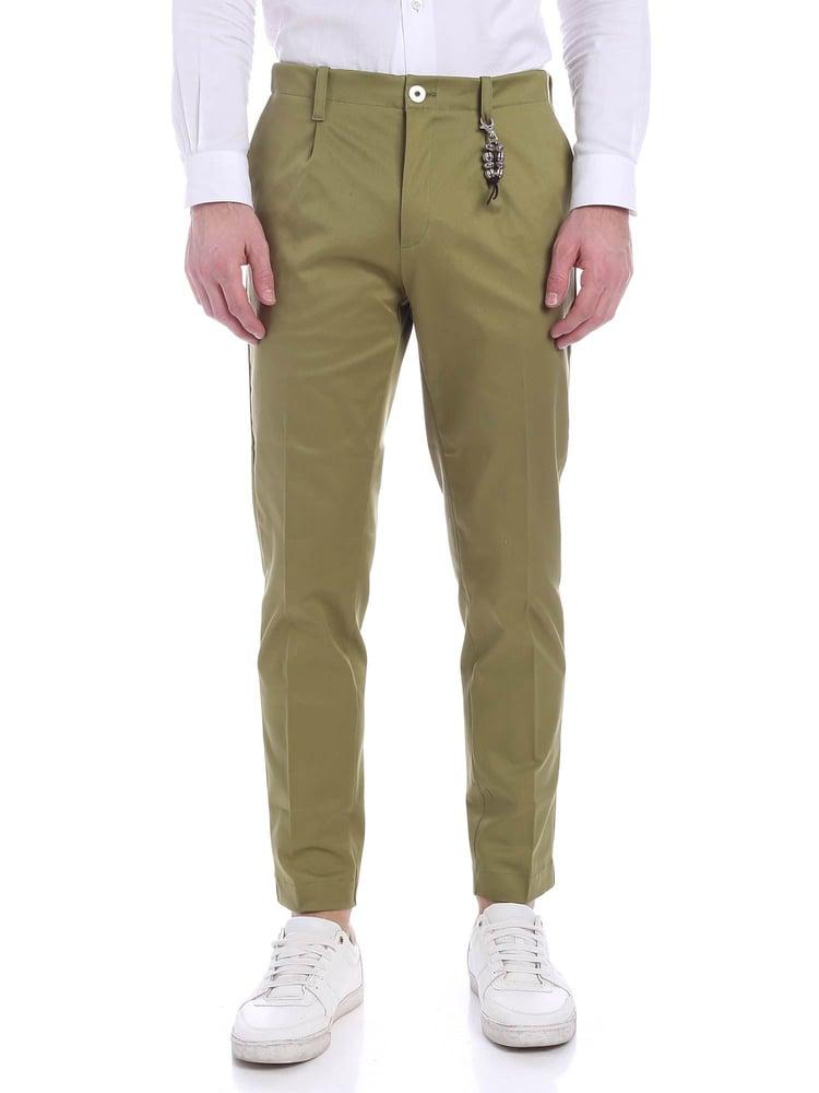 Image of Pantalone una pence verde R92 C-V