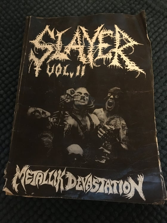 Image of Slayer mag vol: 11 ( not so good condition)