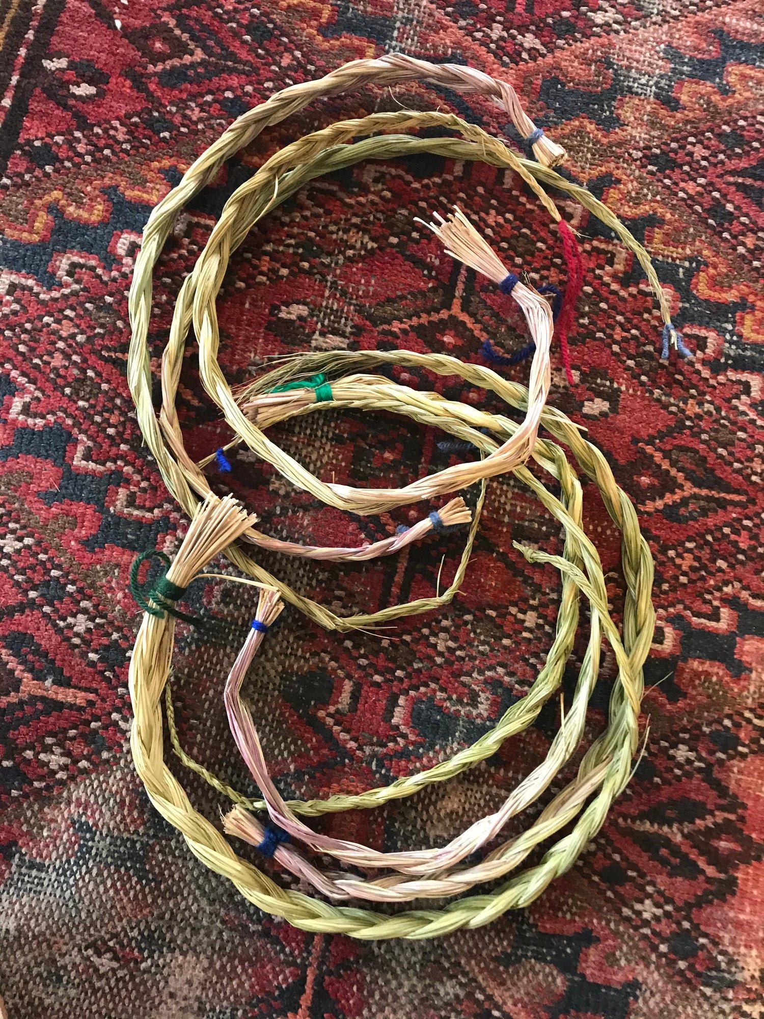 Image of Sweetgrass Braids
