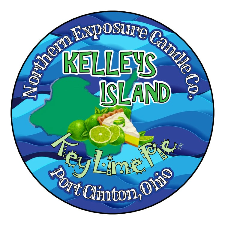 "Image of ""Kelleys Island KeyLime Pie"" Soy Candle"