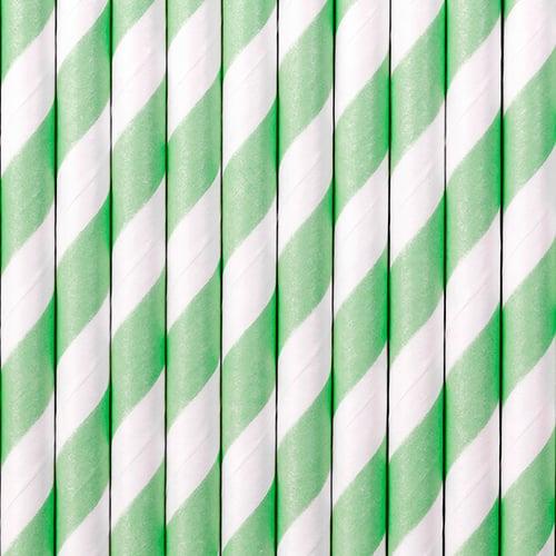 Image of Cañitas de papel a rayas