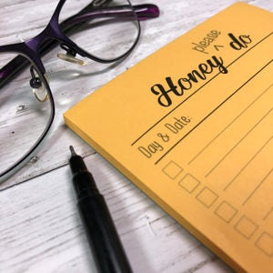 Honey Do Notepad - To do list