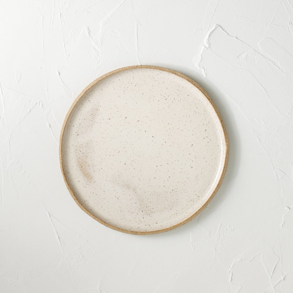Image of Cream Speckled Plates