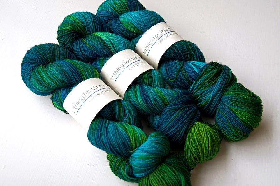 Image of Merino Sock — Heart of Darkness