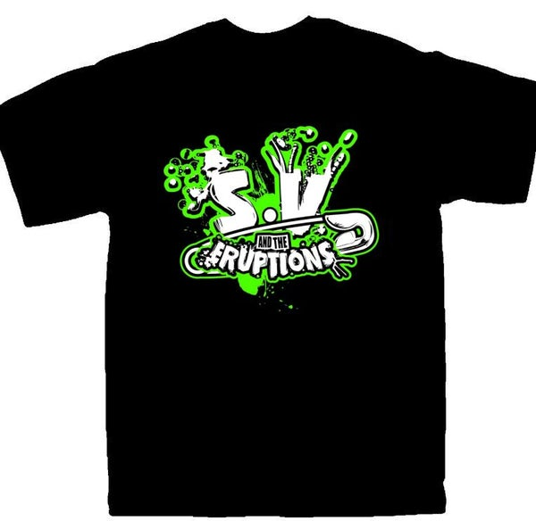 Image of SV 'SAFETY PIN' LOGO - T-SHIRT