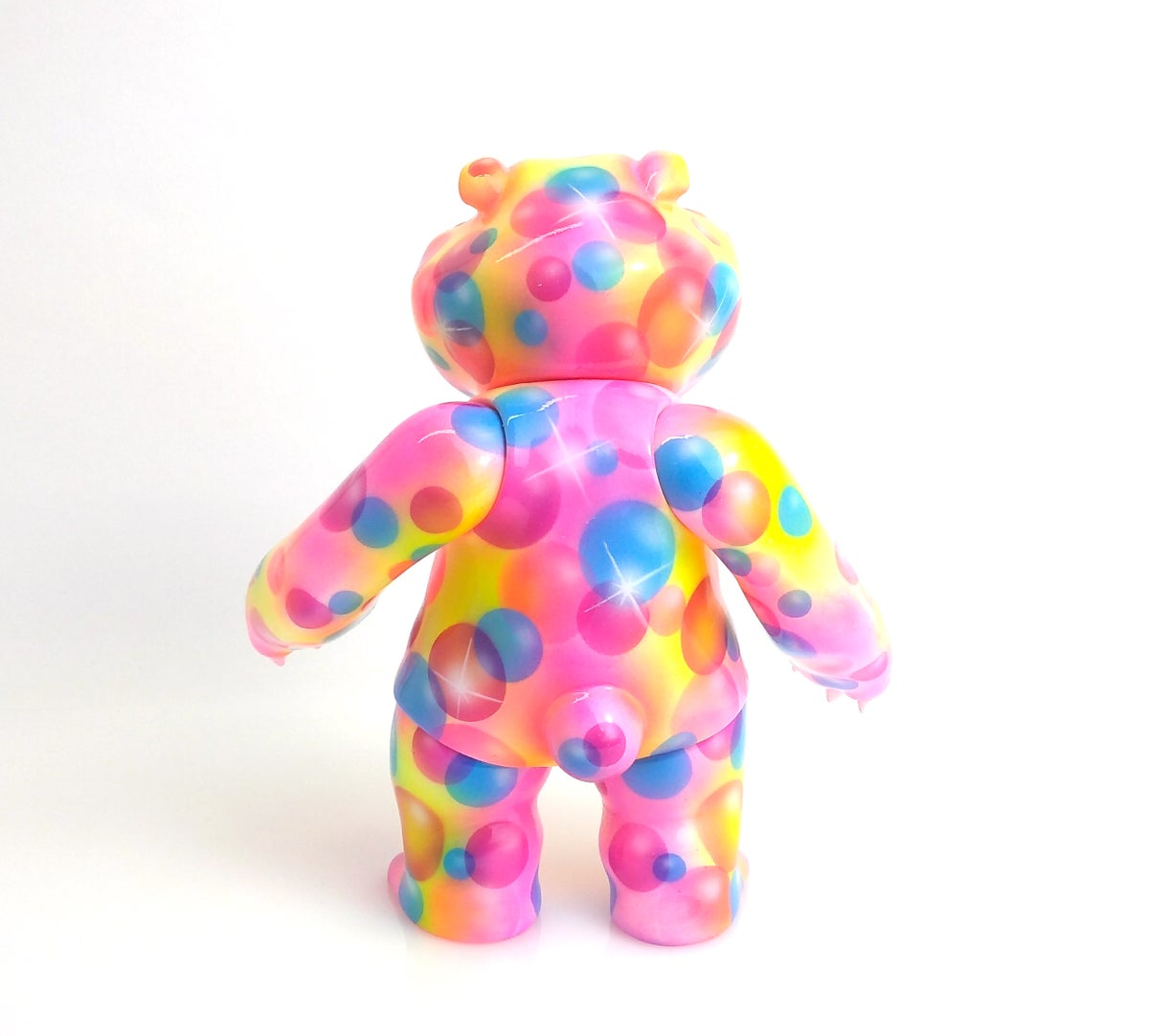 Image of Neon Bubbles Mad Panda One Off Custom
