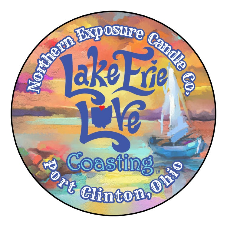 "Image of ""Lake Erie Love- COASTING"" Soy Candle"