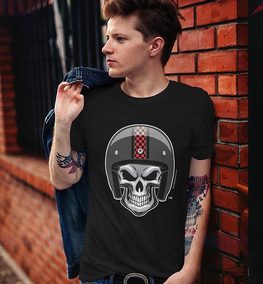 Image of Retro Skull - T-Shirt