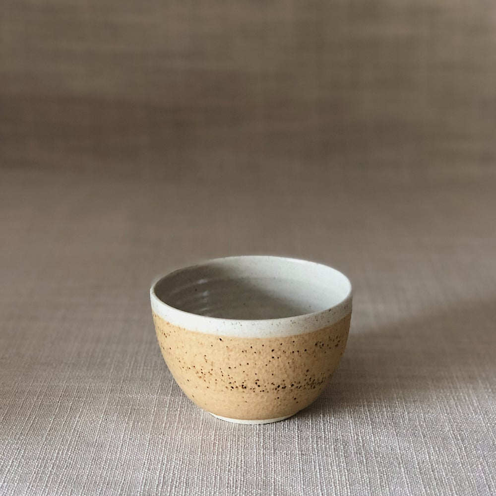 Image of EARTHY ORANGE ICE CREAM BOWL