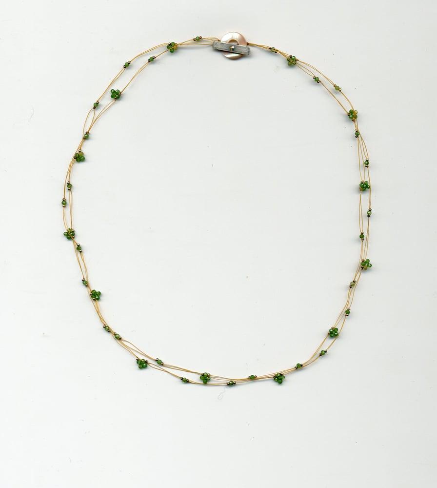 Image of quatrefoil gems