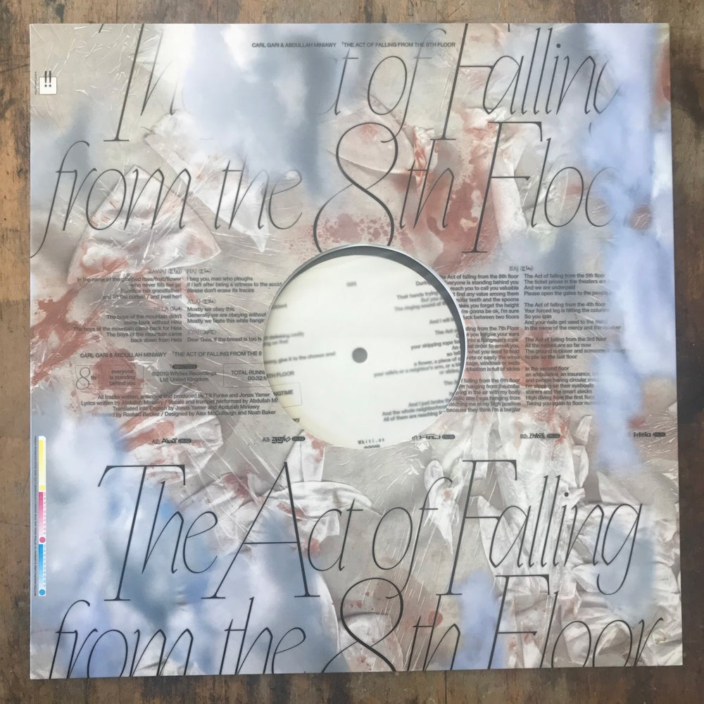 Image of Carl Gari & Abdullah Miniawy – The Act Of Falling From The 8th Floor EP