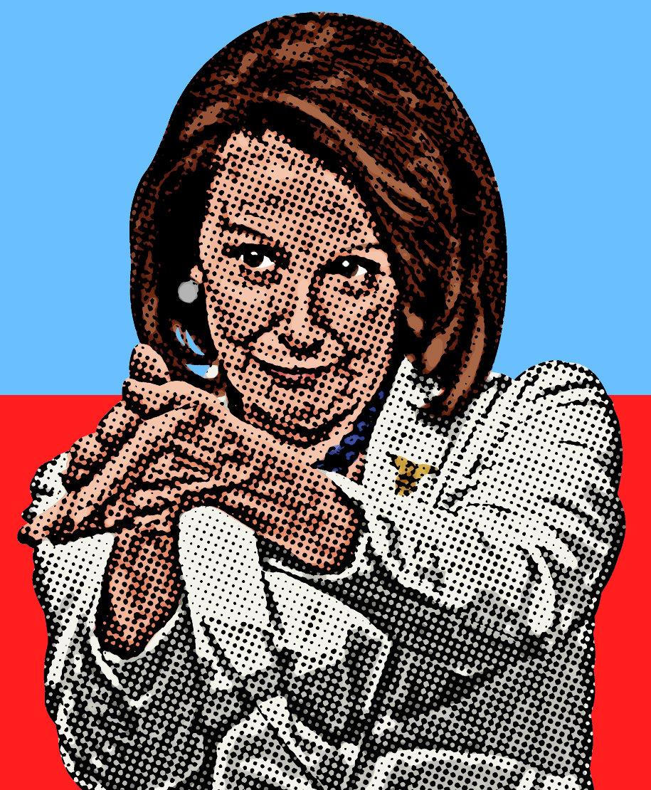 Image of Pelosi Clap Sticker