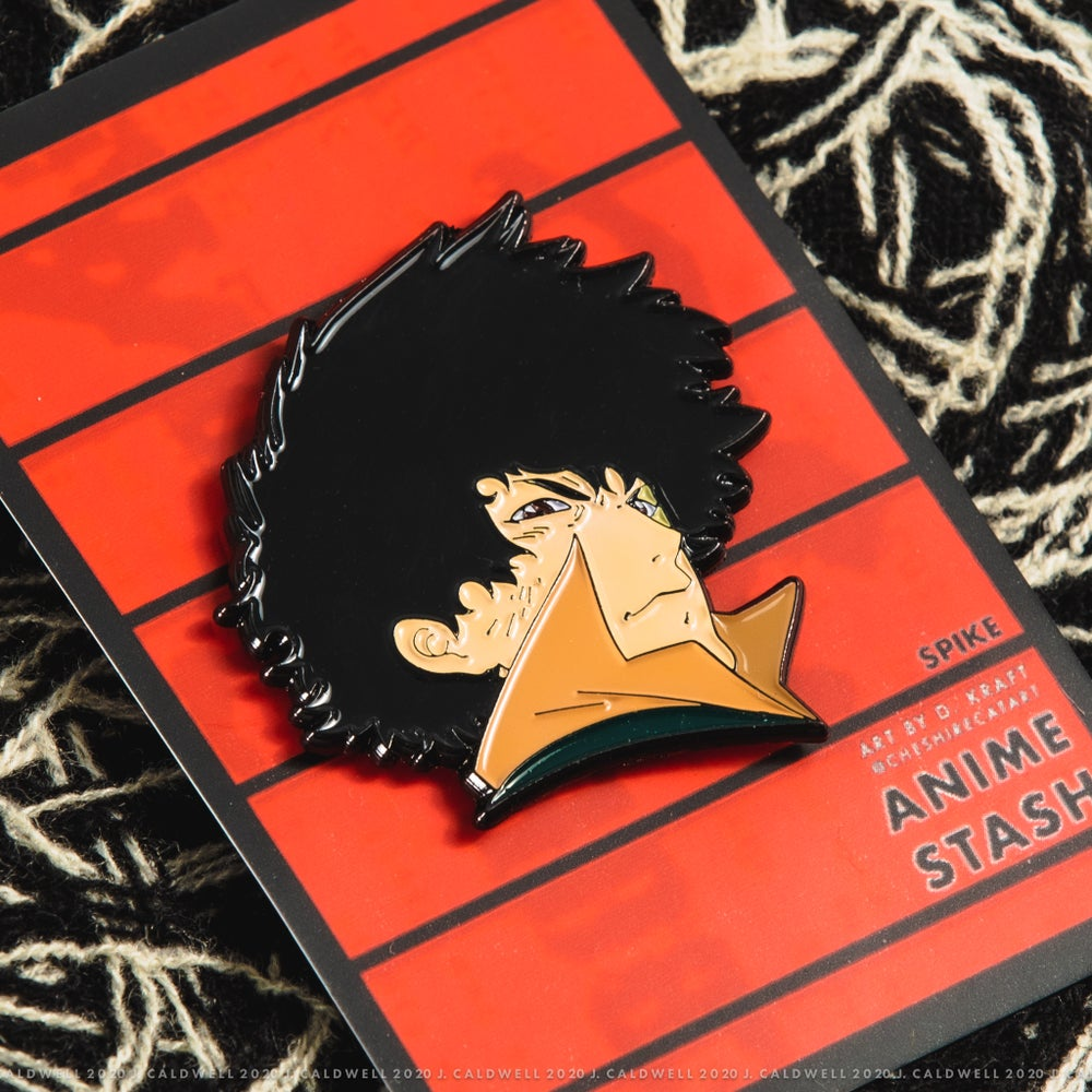 Image of Spike (Cowboy Bebop) | Soft Enamel Pin