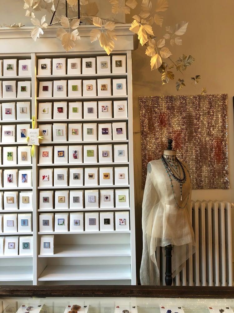 Image of 12 handmade greeting cards
