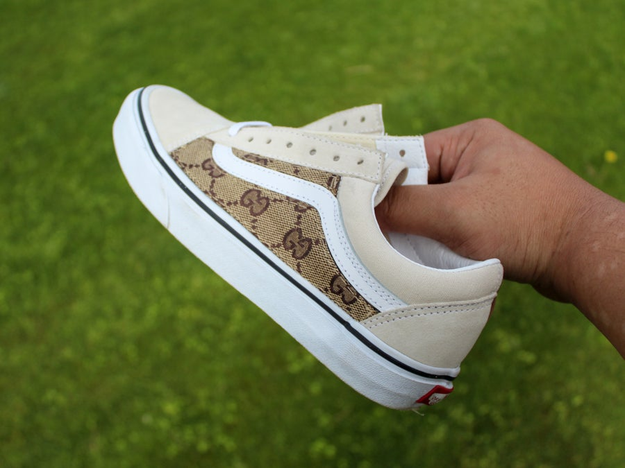 "Image of ""GG Fabric"" Vans Old Skool Lows"