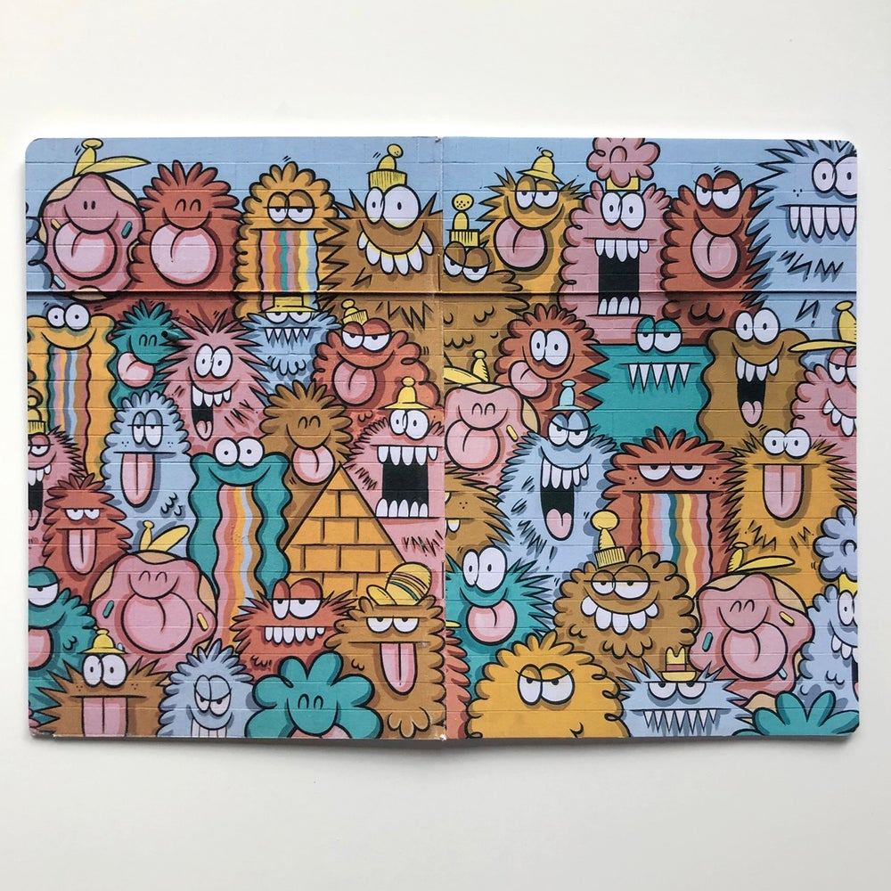Image of LARGE NOTEBOOK - ALOHA MONSTERS