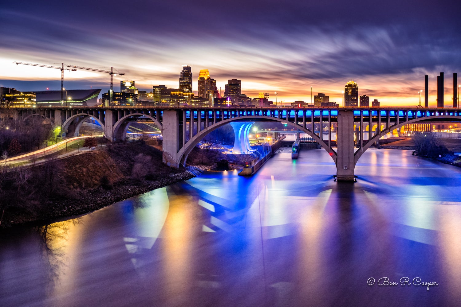 Minneapolis after Sunset