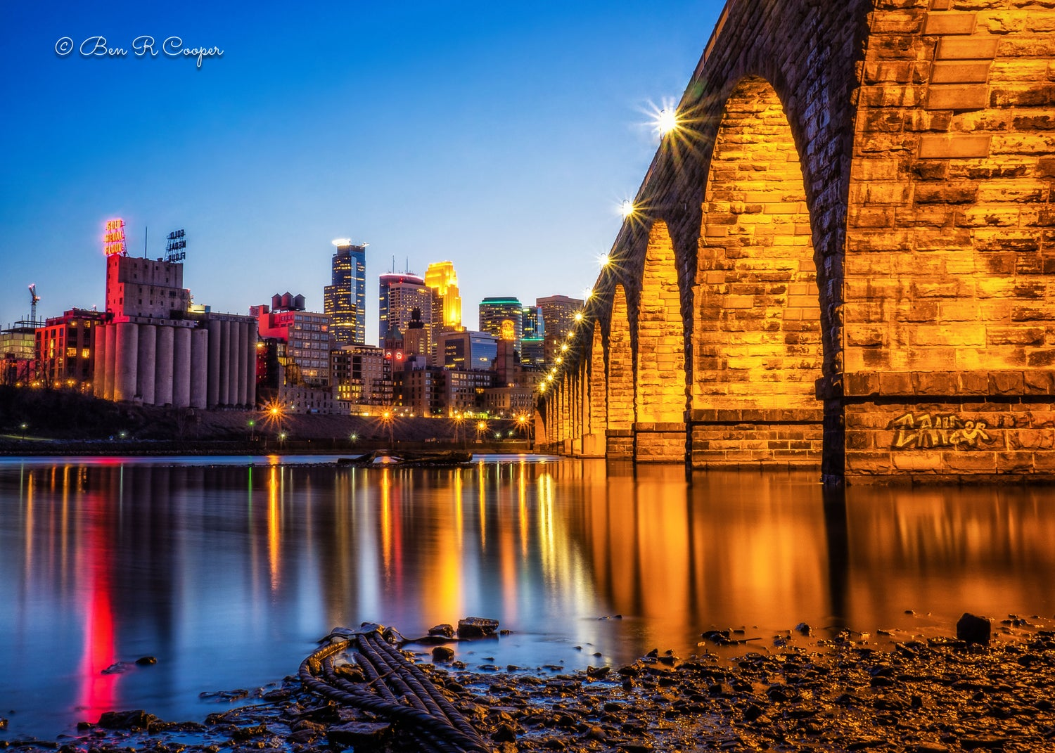 Along The Stone Arch
