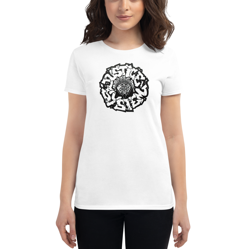 Image of Justice System Graffiti Girls Tee