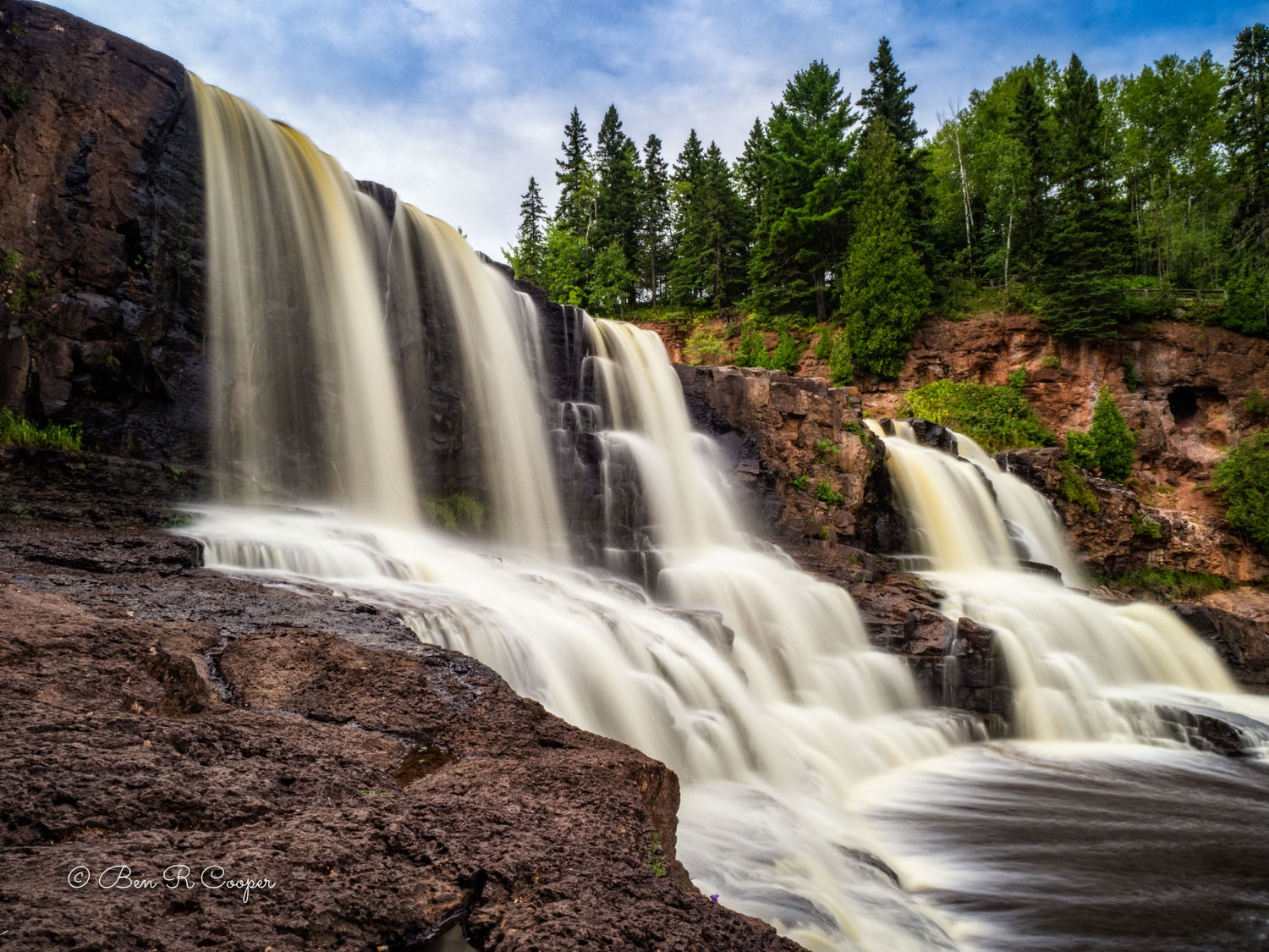 Afternoon at Gooseberry Falls