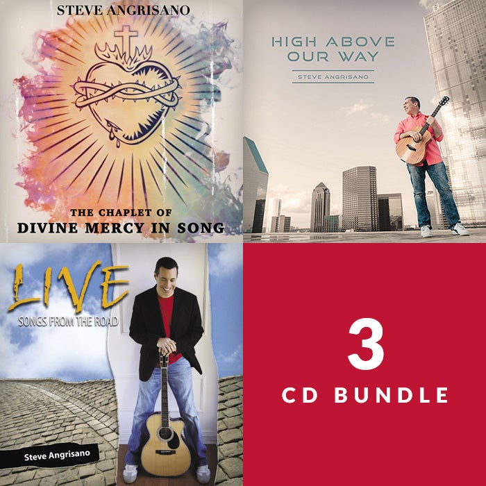 The Chaplet, Live!, and High Above Our Way - 3 CD Bundle