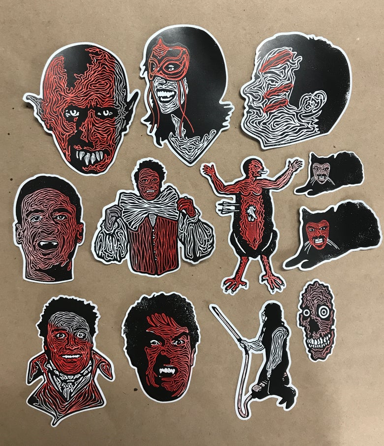 Image of What We Do In The Shadows Sticker Pack