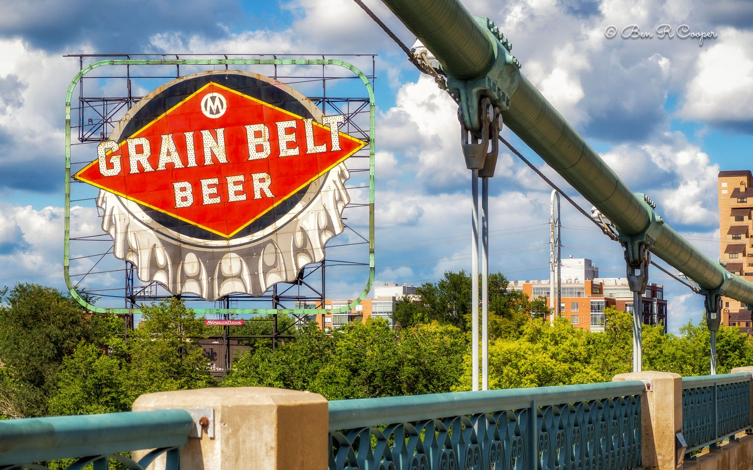 Grain Belt Sign in Minneapolis