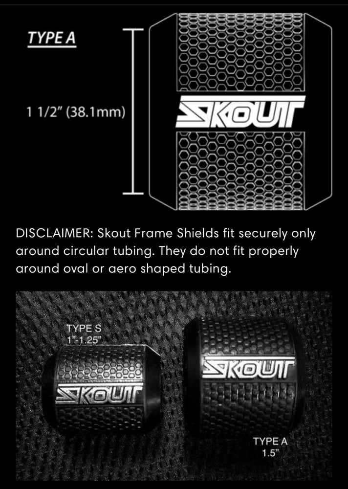 Image of Skout Frame Shield top tube protector
