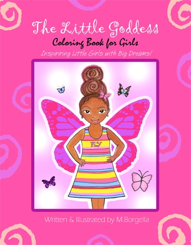 Image of The Little Goddess Coloring Book