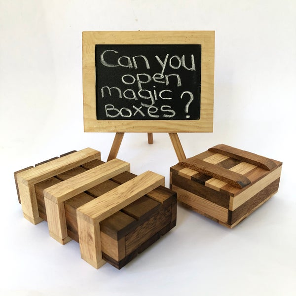 Image of Magic Box Puzzles