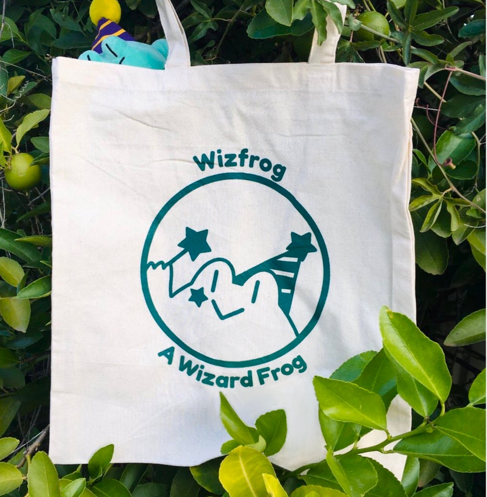 Image of Wizfrog Canvas Tote!