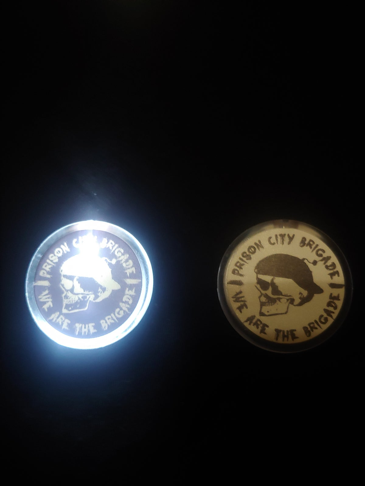 Prison City Brigade Light Up Pins