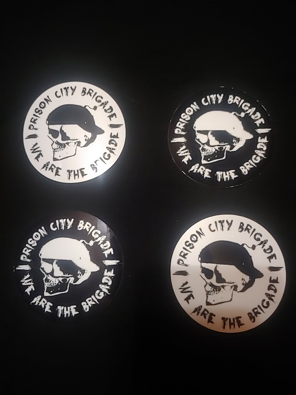 Prison City Brigade Stickers