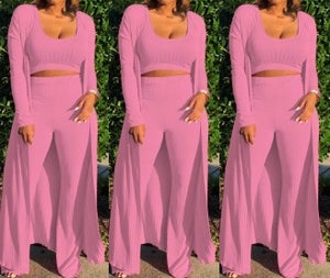 "Image of ""Relaxed"" 3 Pc Duster Set"