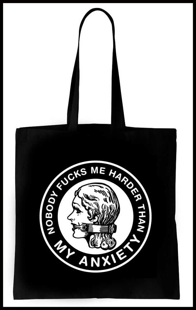 Image of Anxiety Warrior tote bag