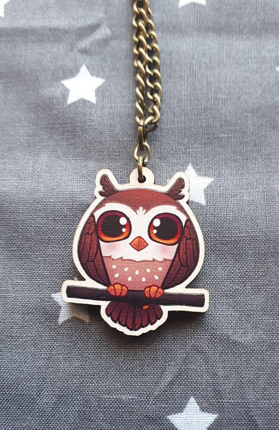 Image of Chibi Owl Necklaces