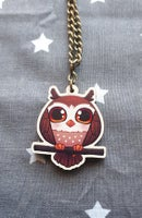 Image 3 of Chibi Owl Necklaces