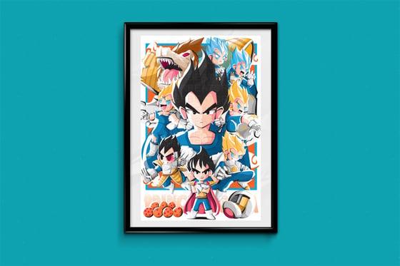 Image of Dragon Ball Z: Vegeta