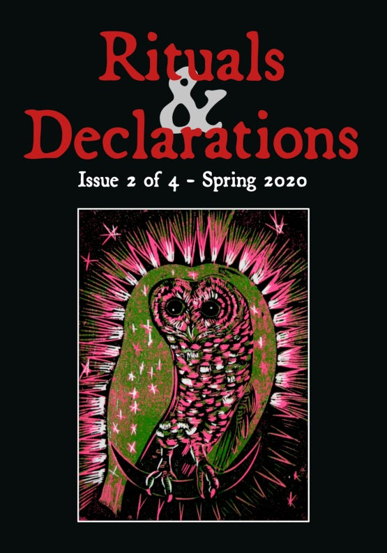 Image of Rituals & Declarations issue 2 of 4 -  Spring 2020