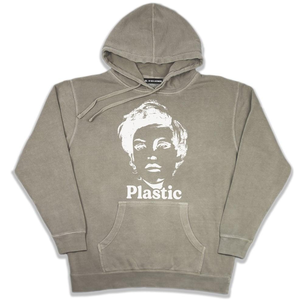 Image of Plastic Hoodie (Vintage Beige)