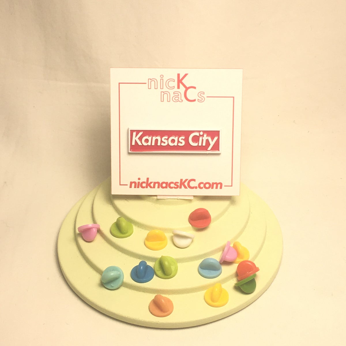 Image of Kansas City Supreme Pin