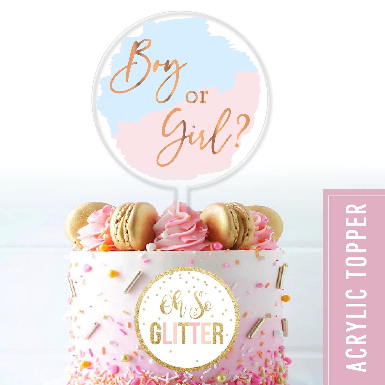 Image of Boy or Girl? - Acrylic cake topper