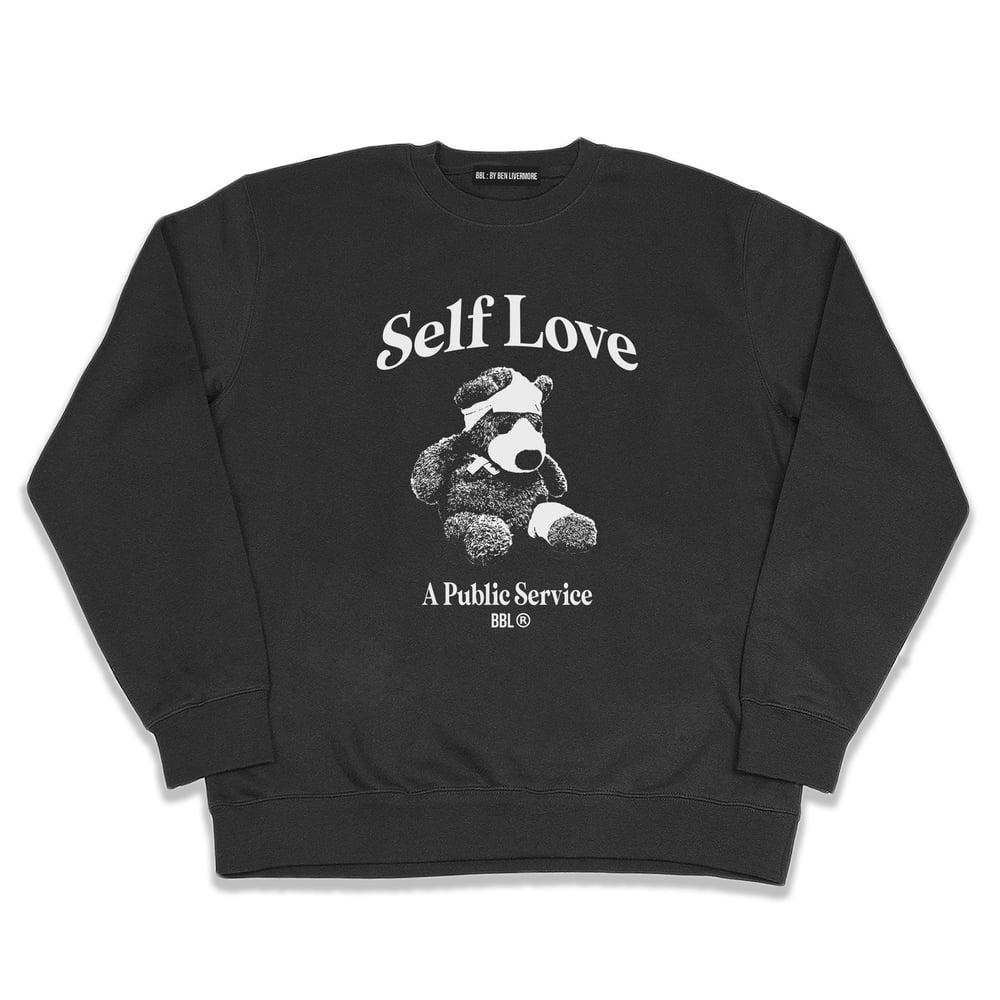 Image of Self Love Sweatshirt (Black)